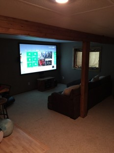 "103"" Full Home Theater install"